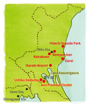 Ibaraki Japan Map.Ibaraki Planet Ta Kun S Observations Of New Japan Planet Inc